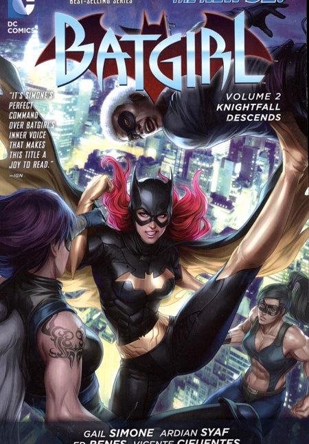 Batgirl Vol 02 Knightfall Descends (N52)