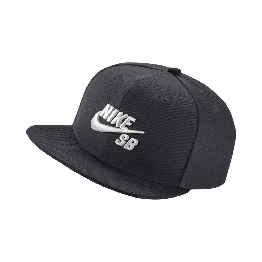 65570970ad7 NIKE SB - U NK CAP PRO - BLACK BLACK BLACK WHITE