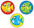 T 83441 SCHOOL FISH STINKY STICKERS