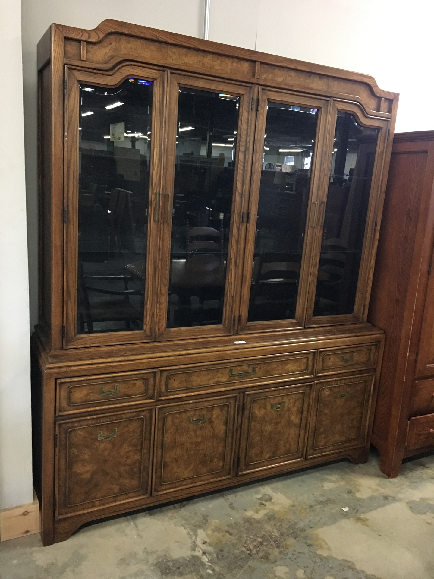 black glass china cabinet | New Arrivals | Second Chance by The ...