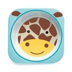 Skip Hop Zoo Melamine Bowl, Giraffe, One Size