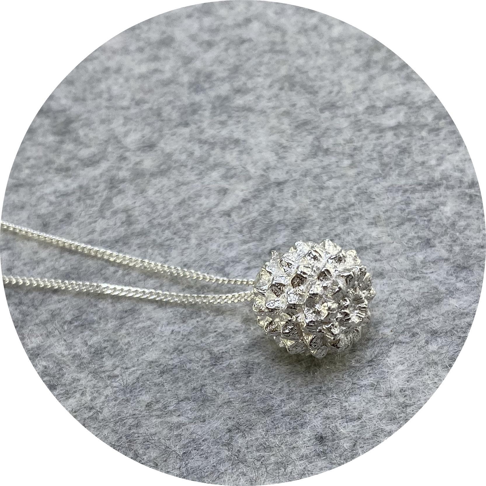 Manuela Igreja- SheOak necklace. Sterling silver.