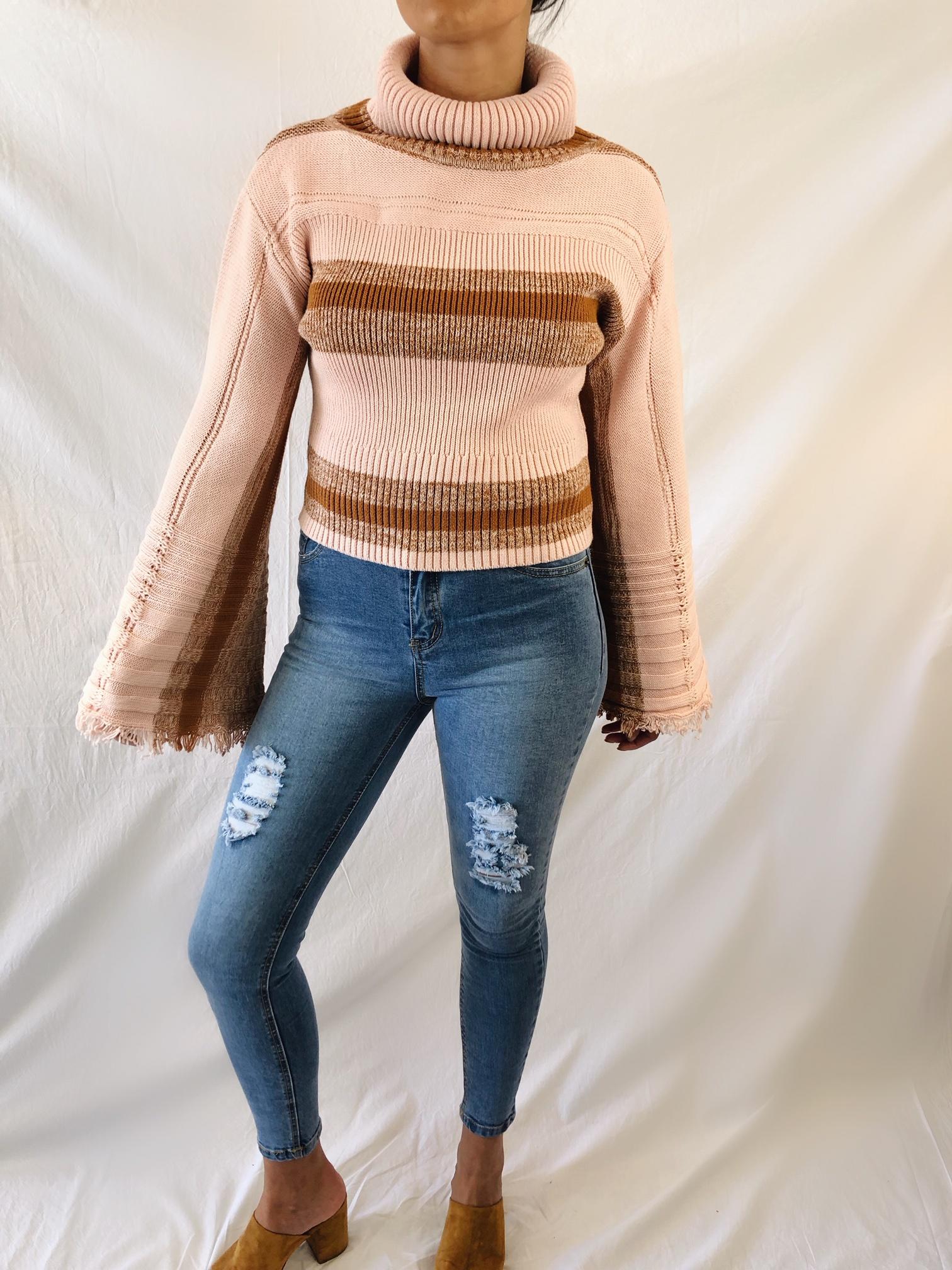 Retro Flare Knit