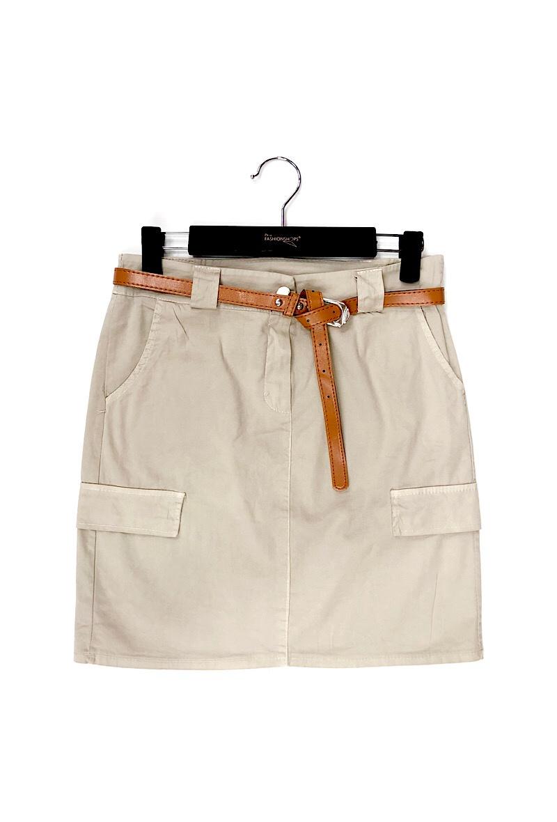 Safari Skirt w Pocket