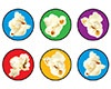 X T 46187 POPCORN TIME SPOTS STICKERS