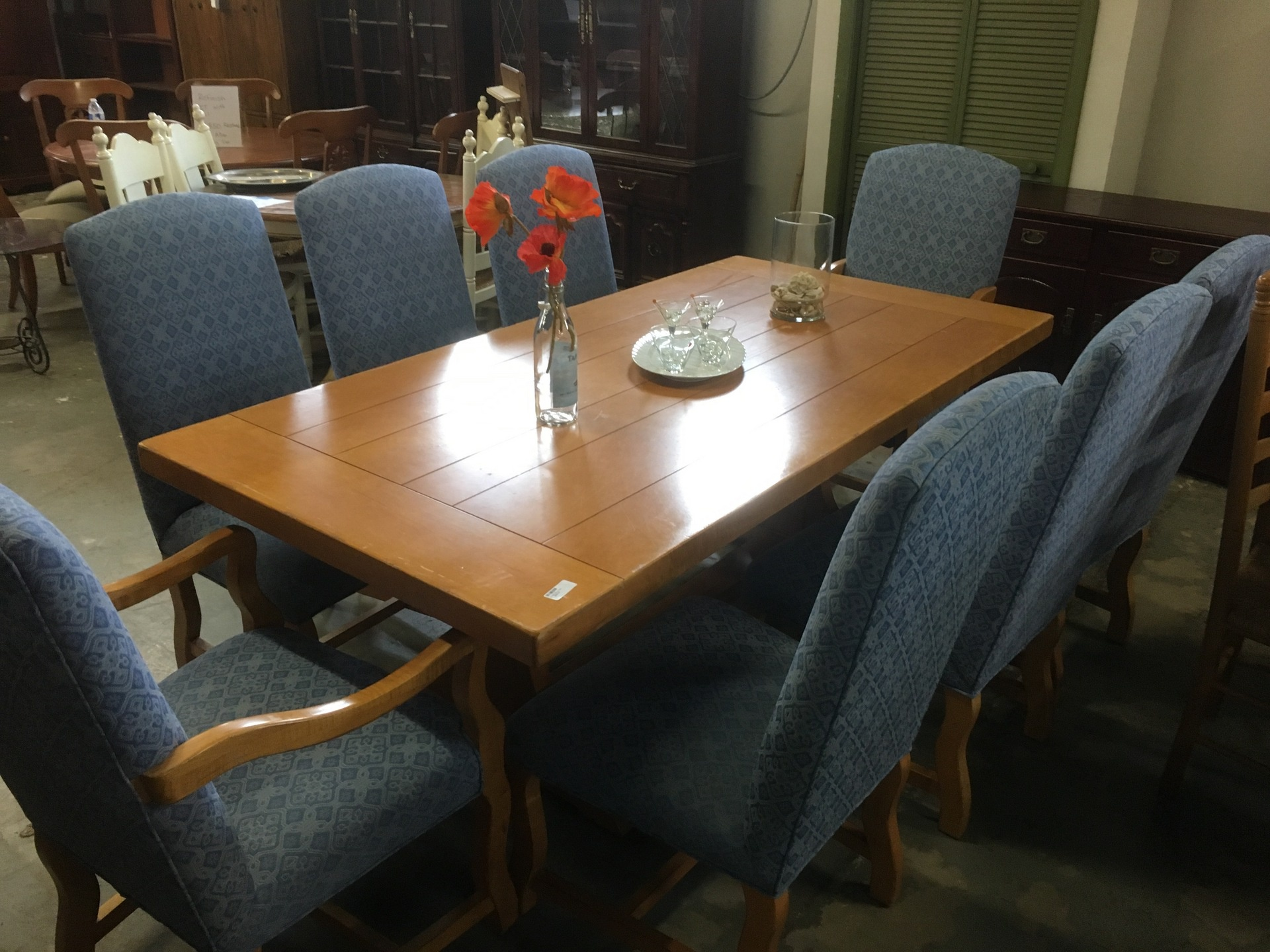 farm table with 8 chairs new arrivals second chance by the