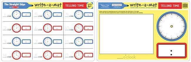 MD 5011 TELLING TIME WRITE A MAT