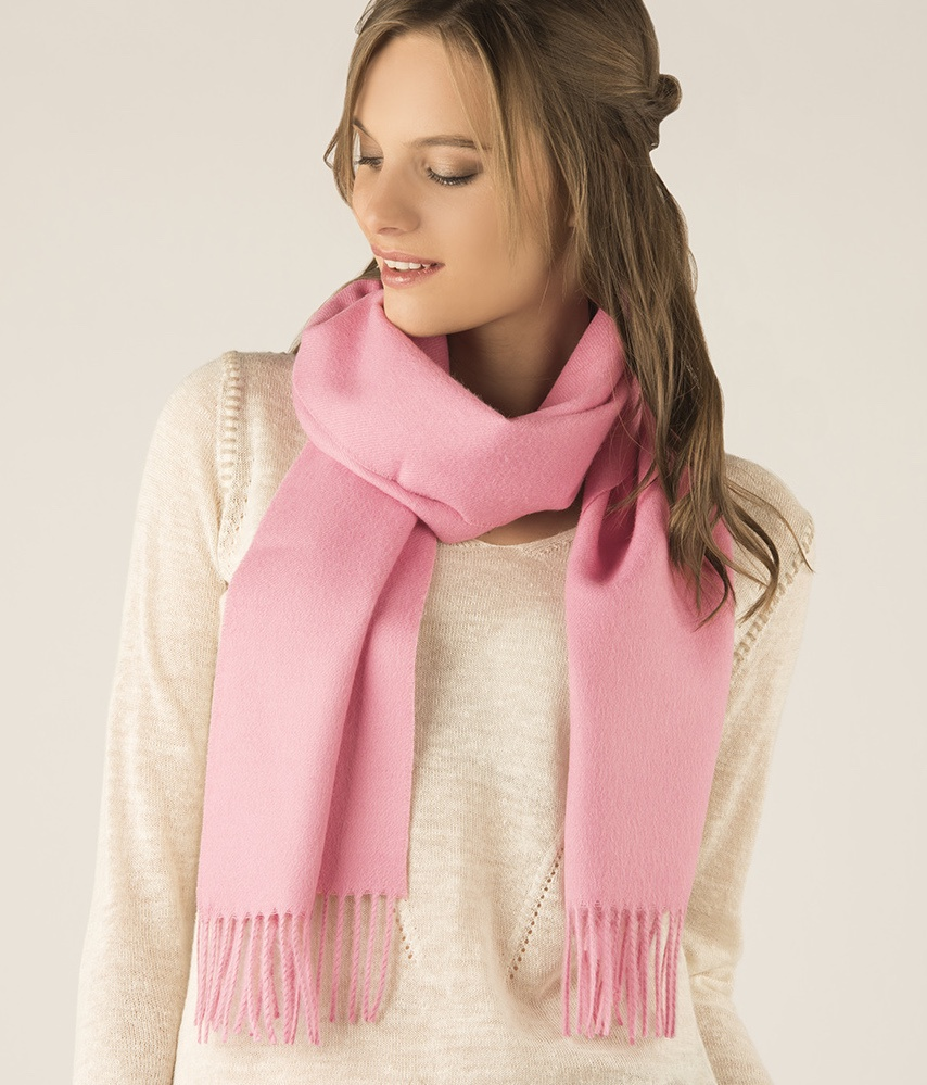 LONG BRUSHED SCARF RJ13495