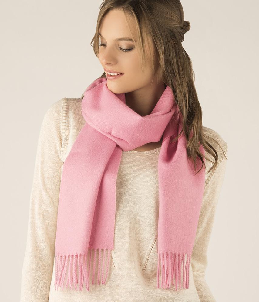 Long brushed scarf RJ13495