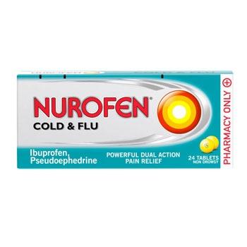 NUROFEN COLD AND FLU TABLETS