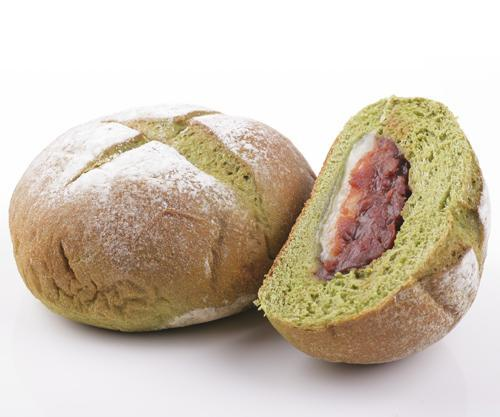 2018-04-28 Green Tea Mochi & Azuki Bread 綠茶麻糬紅豆包