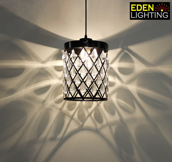 8662 200mm crystal lamp shade