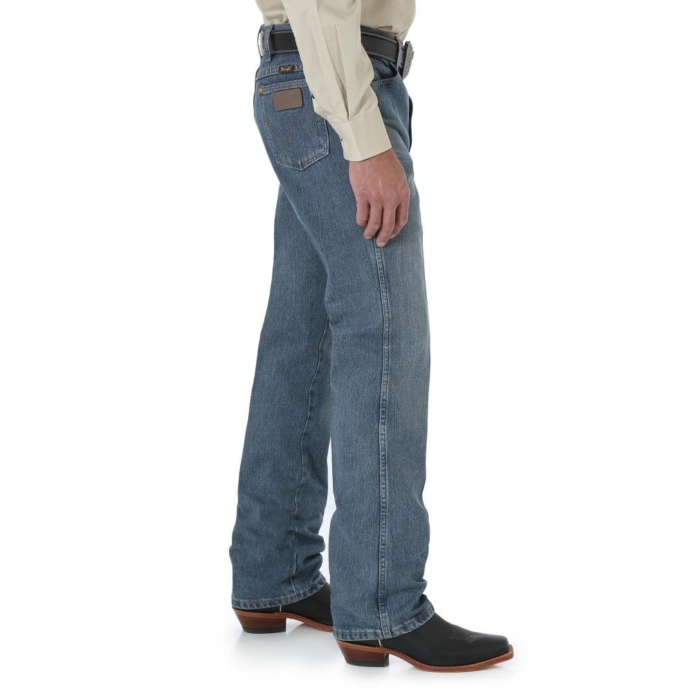 a88de485 Wrangler® Men's Cowboy Cut® Slim Fit Jean - 936RST- Rough Stone