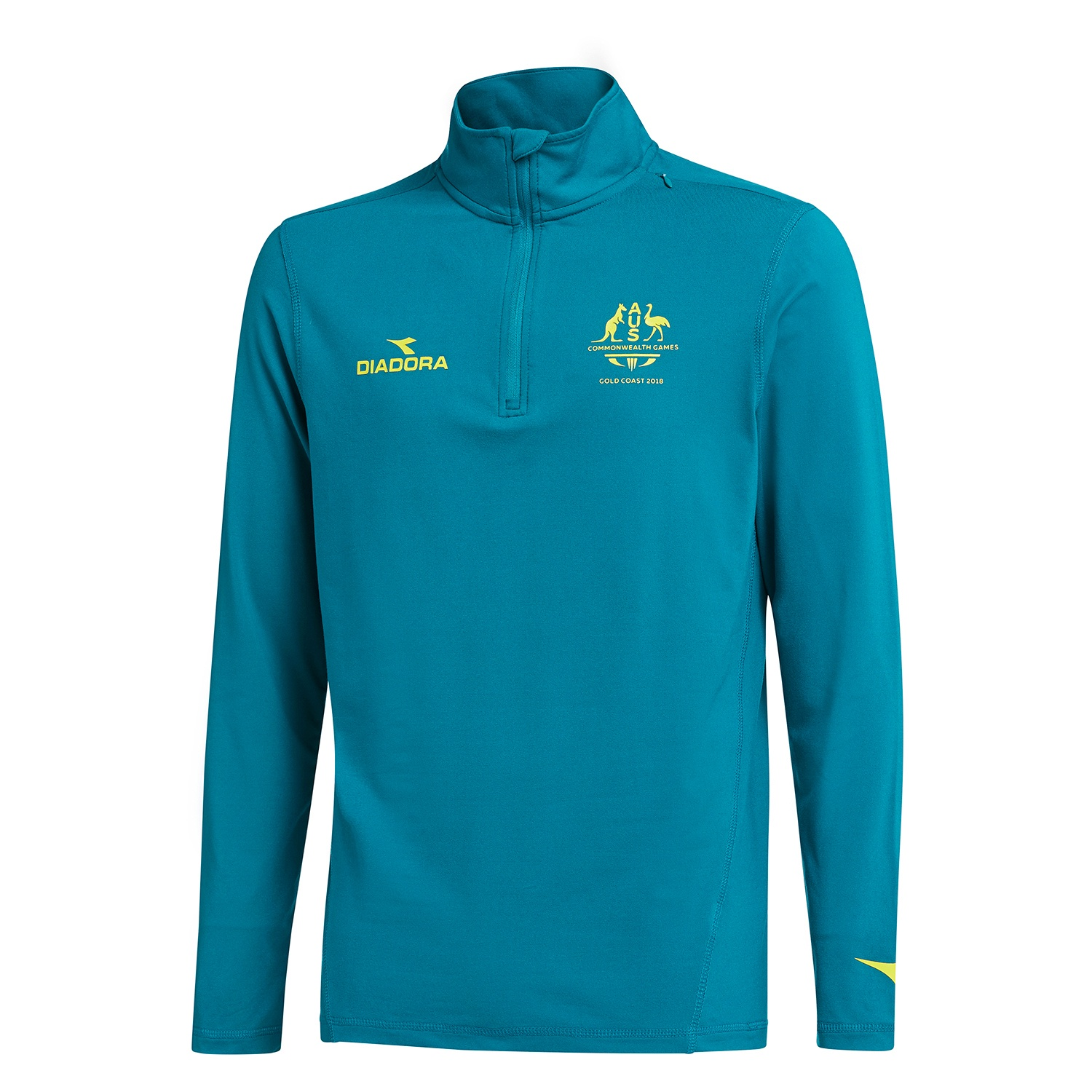 Team Australia Men's 1/4 Zip Top