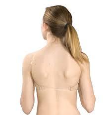 Basic Moves Child Seamless Clear Back Bra (4722G)