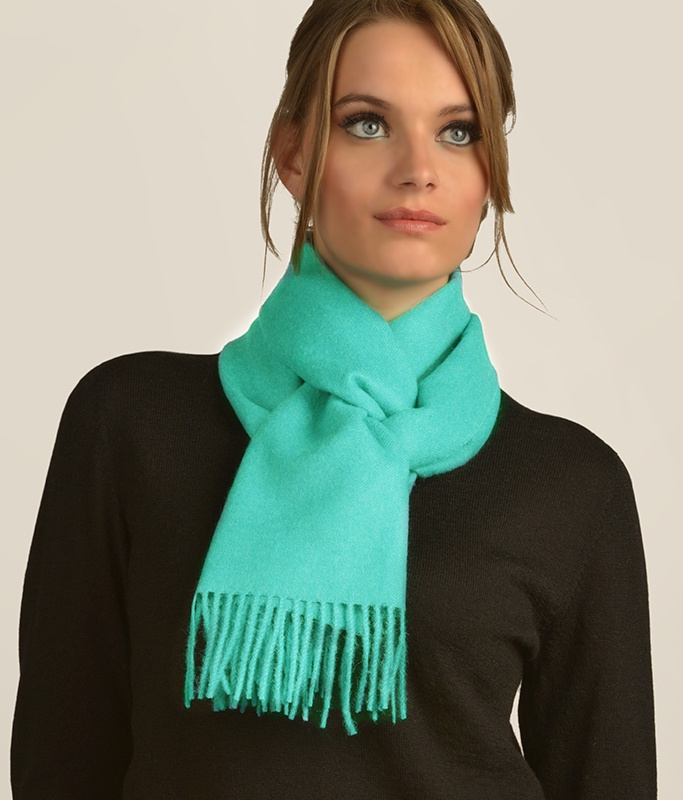 LONG BRUSHED SCARF AZ6134