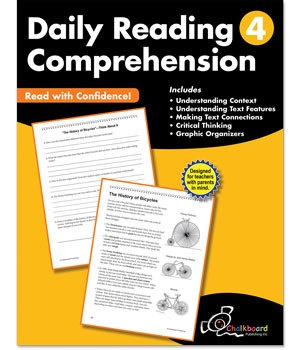 CTP 8184 DAILY READING COMPREHENSION GR.4