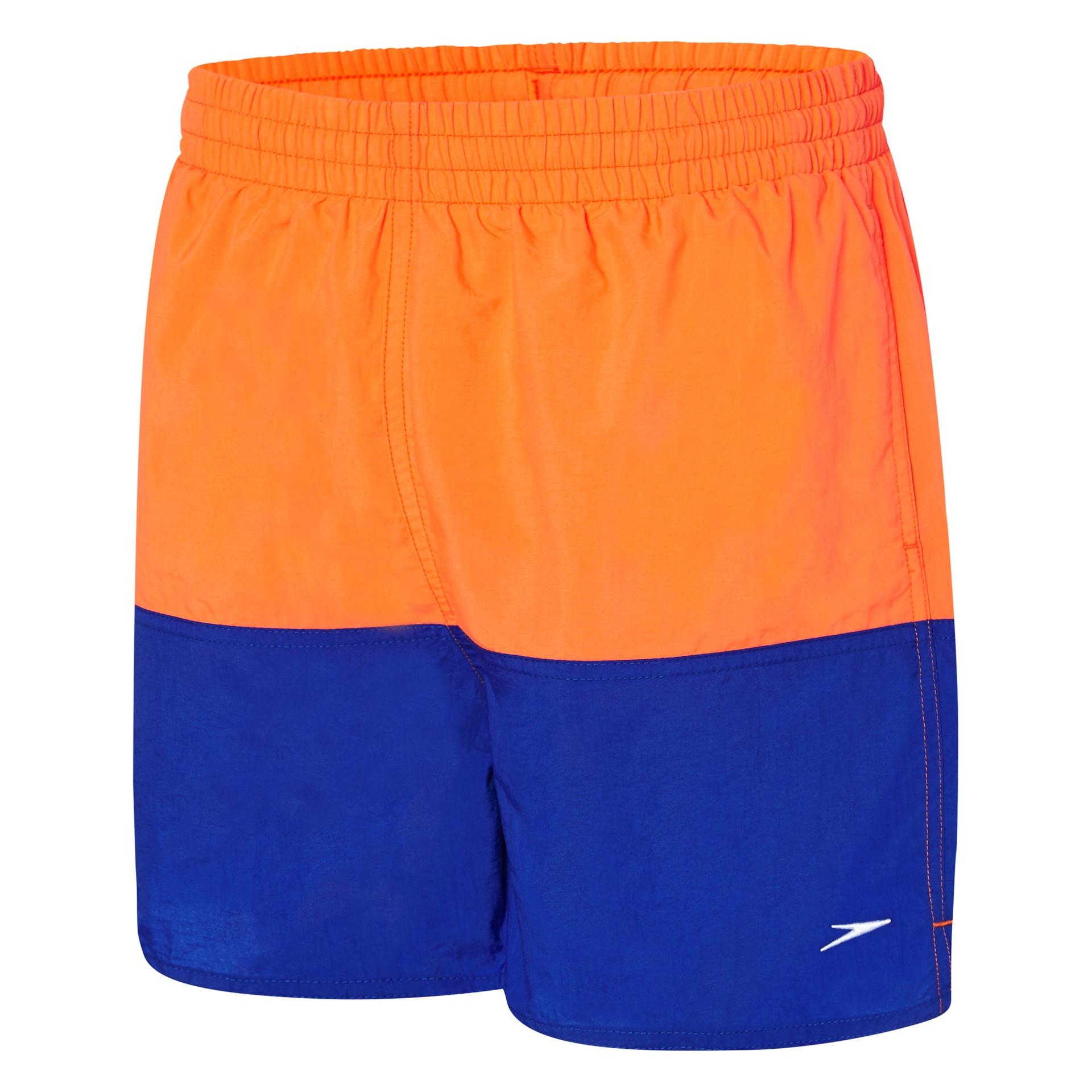 5a98d9a9e2257c Boys Panel Solid Leisure Watershort Vivid Orange/Speed/Bali Blue ...