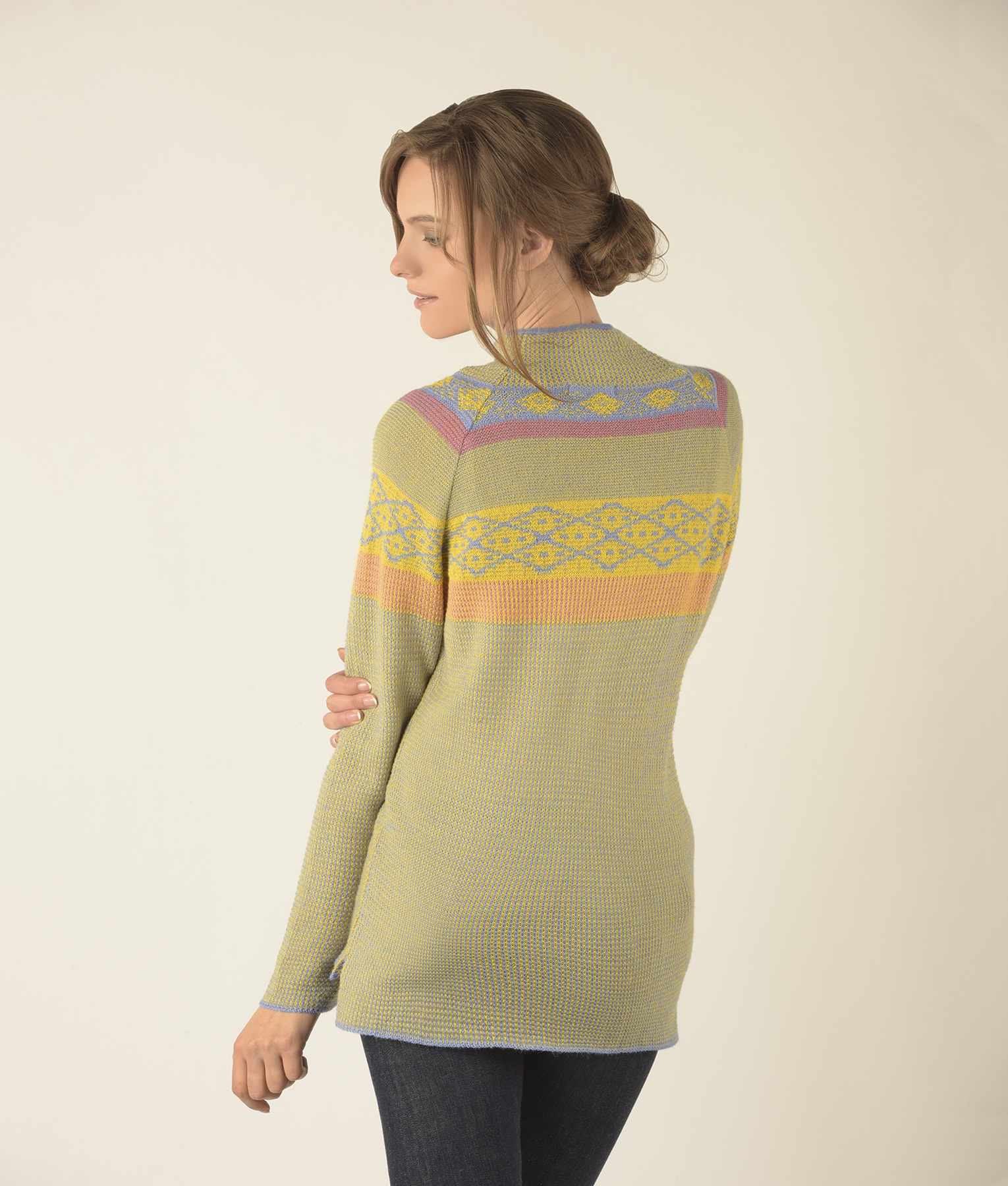 SEED STITCH TURTLE PULLOVER C004