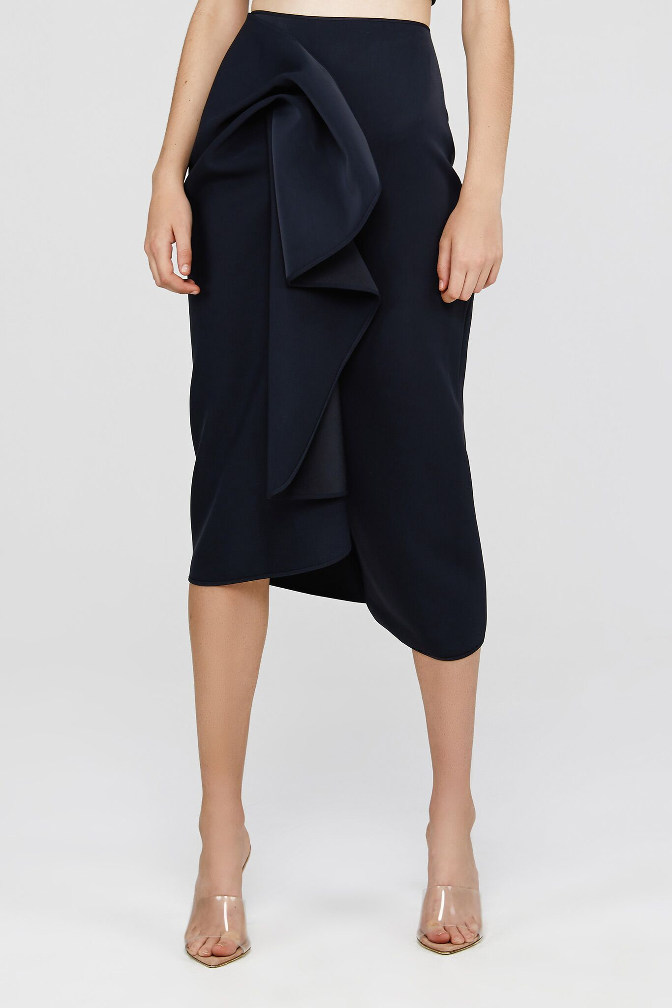 Acler Crawford Skirt in Ink