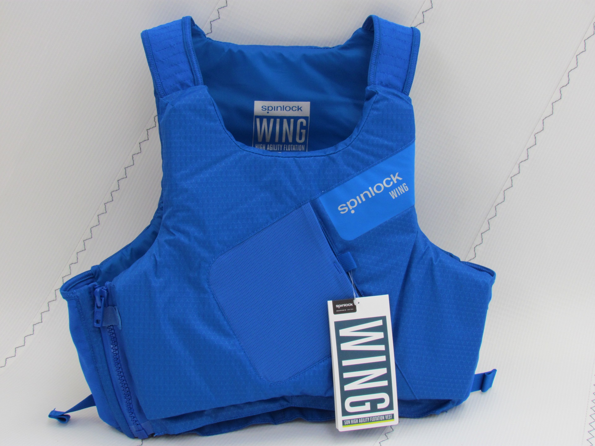 Spinlock Wing Side Zip PFD Cobalt Blue Size: Medium