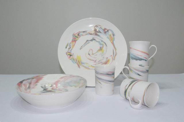 Sunset Porcelain Mug