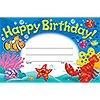 T 81055 HAPPY BIRTHDAY! SEA BUDDIES AWARD