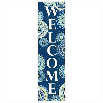 EU 849734 BLUE HARMONY WELCOME BANNER