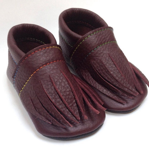 Leather toddler shoes - 2 sizes available