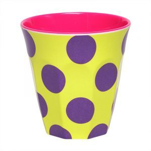 Ginger Yellow Dot Tumbler