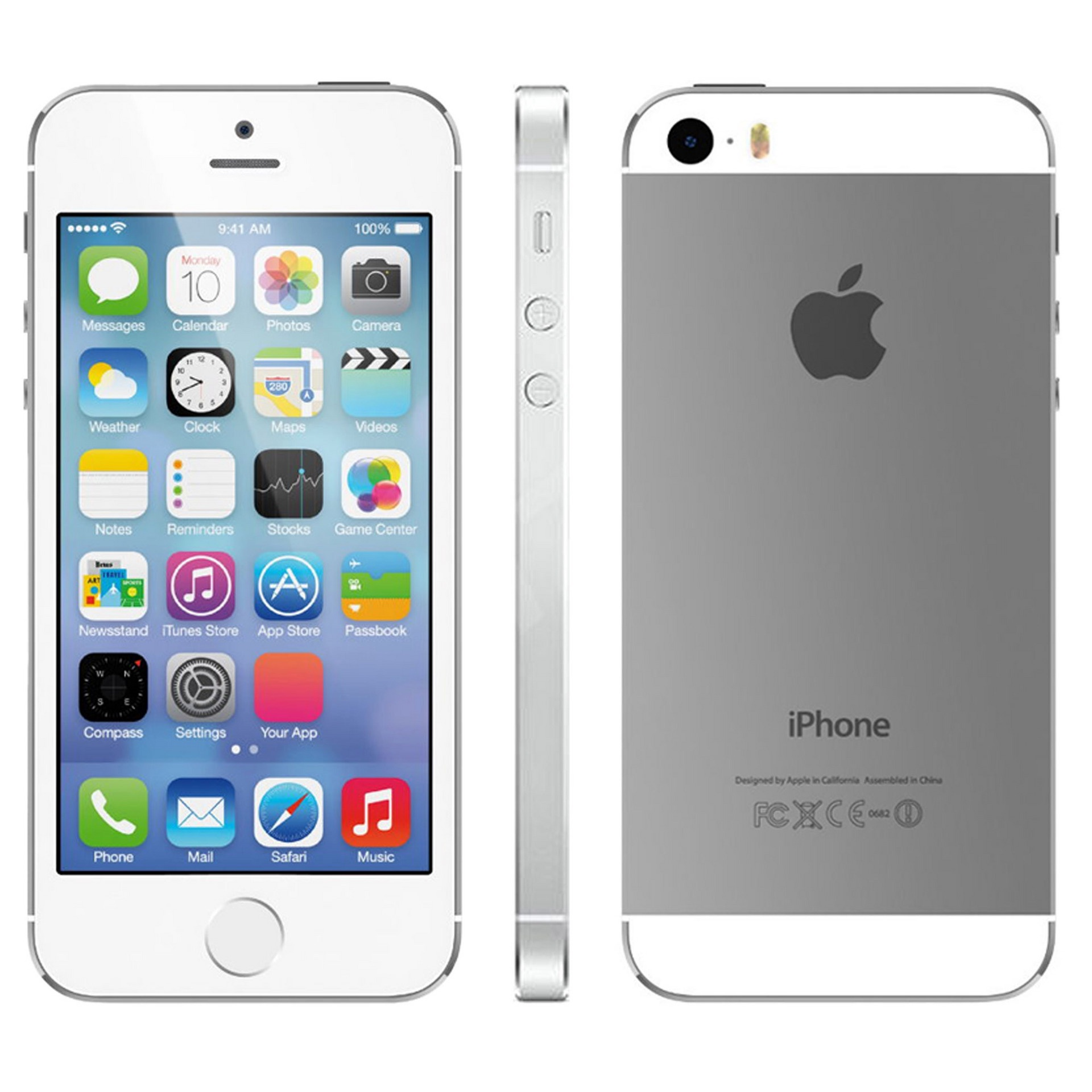 Nearly New Iphone 5s 32gb Silver The Ilab Voucher 3 2gb
