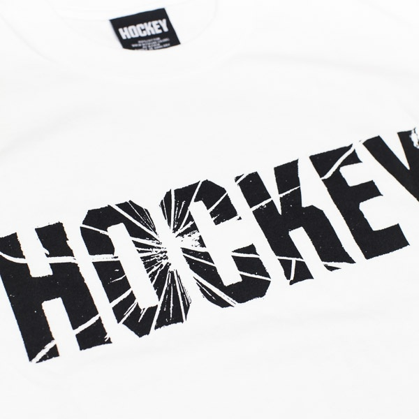 Hockey Shatter Logo T-Shirt White
