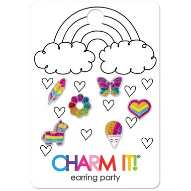 CHARM IT! - RAINBOW EARRING PARTY SET