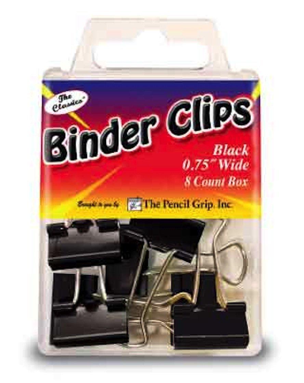 TPG 377 BINDER CLIPS .75