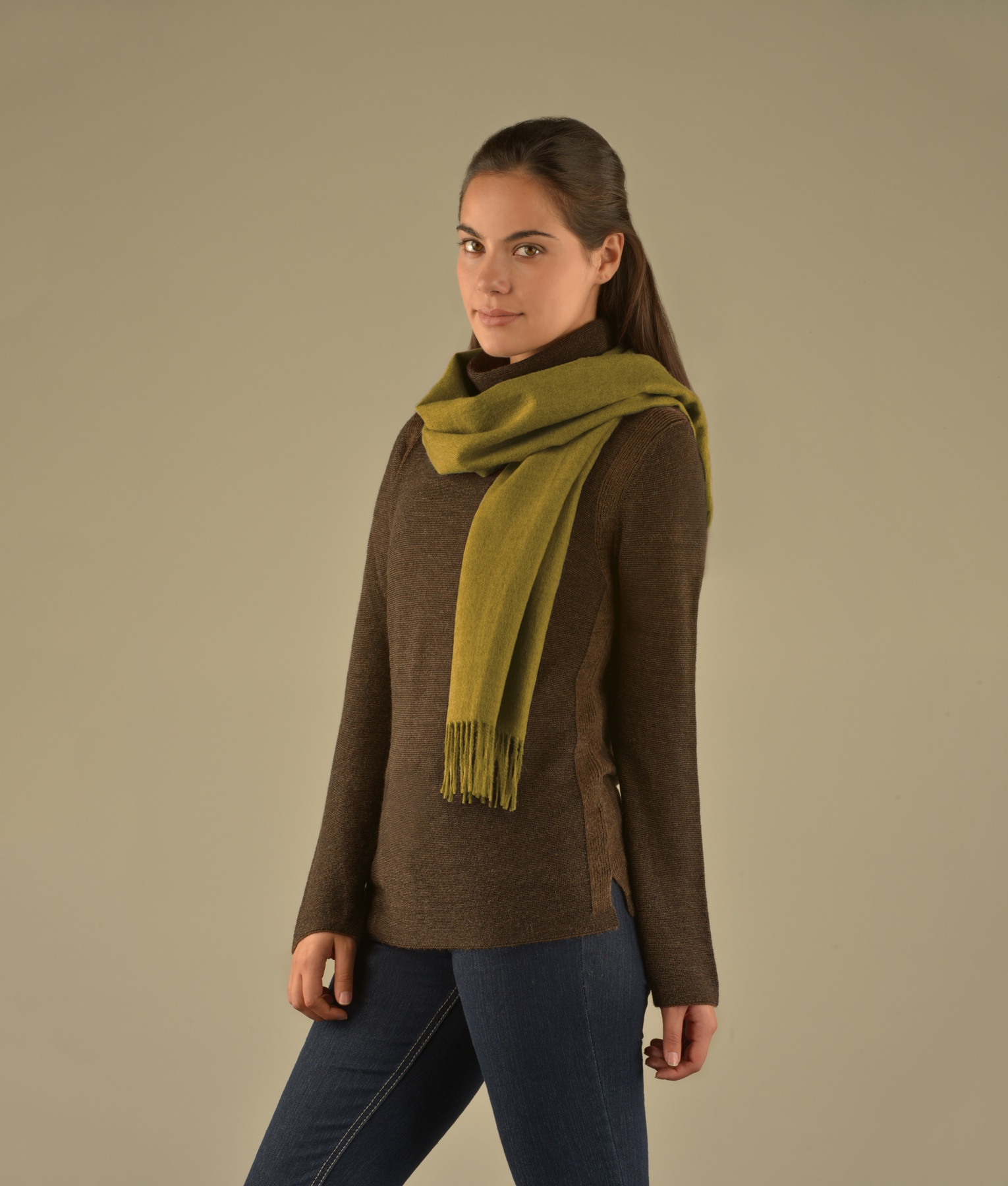 BRUSHED SCARF VR12964