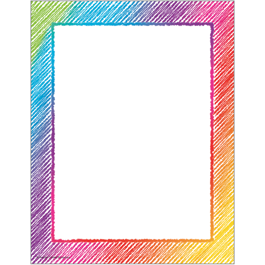 TCR 2688 COLORFUL SCRIBBLE COMPUTER PAPER