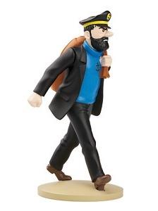 Tintin Resin Figurine Haddock On The Way