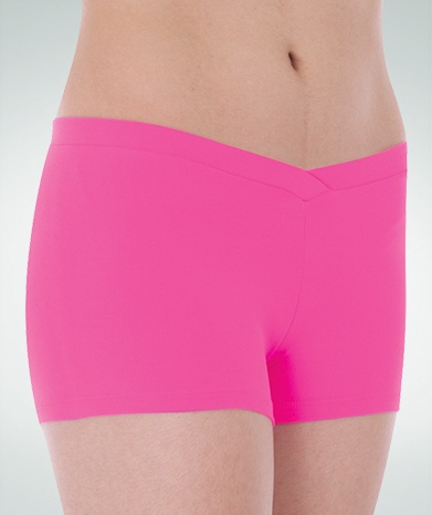 Body Wrappers Child V-Front Hot Shorts (BWP083) child shorts