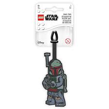 LEGO STAR WARS LIGGAGE TAG BOBA FETT