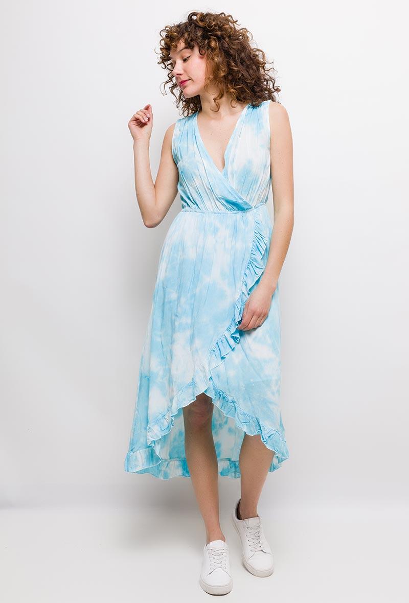 Hycke Tie Dye Dress 8837