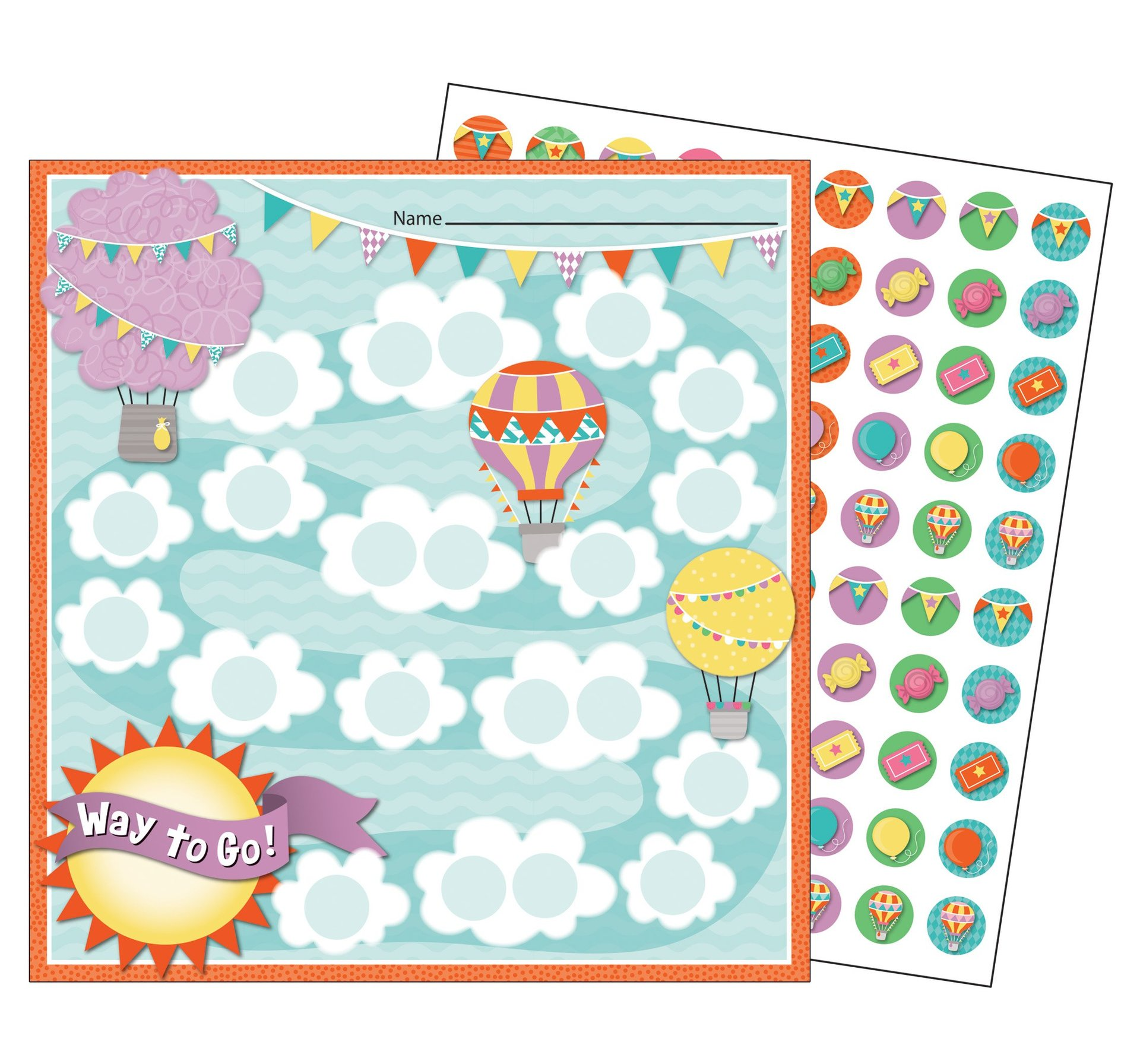 CD 148034 UP AND AWAY MINI INCENTIVE CHART