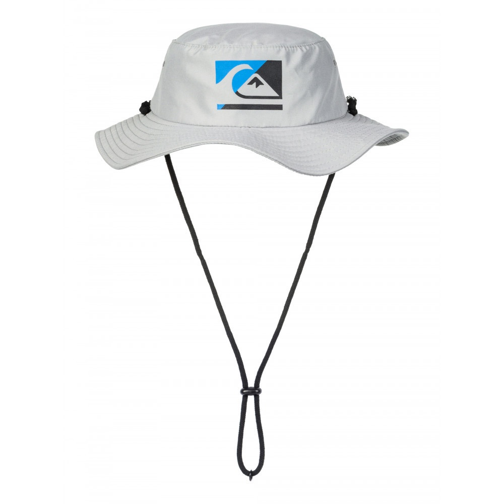 Quiksilver Gelly 3 Boy Bucket Hat Grey - Out There Surf 054b640ca3ee