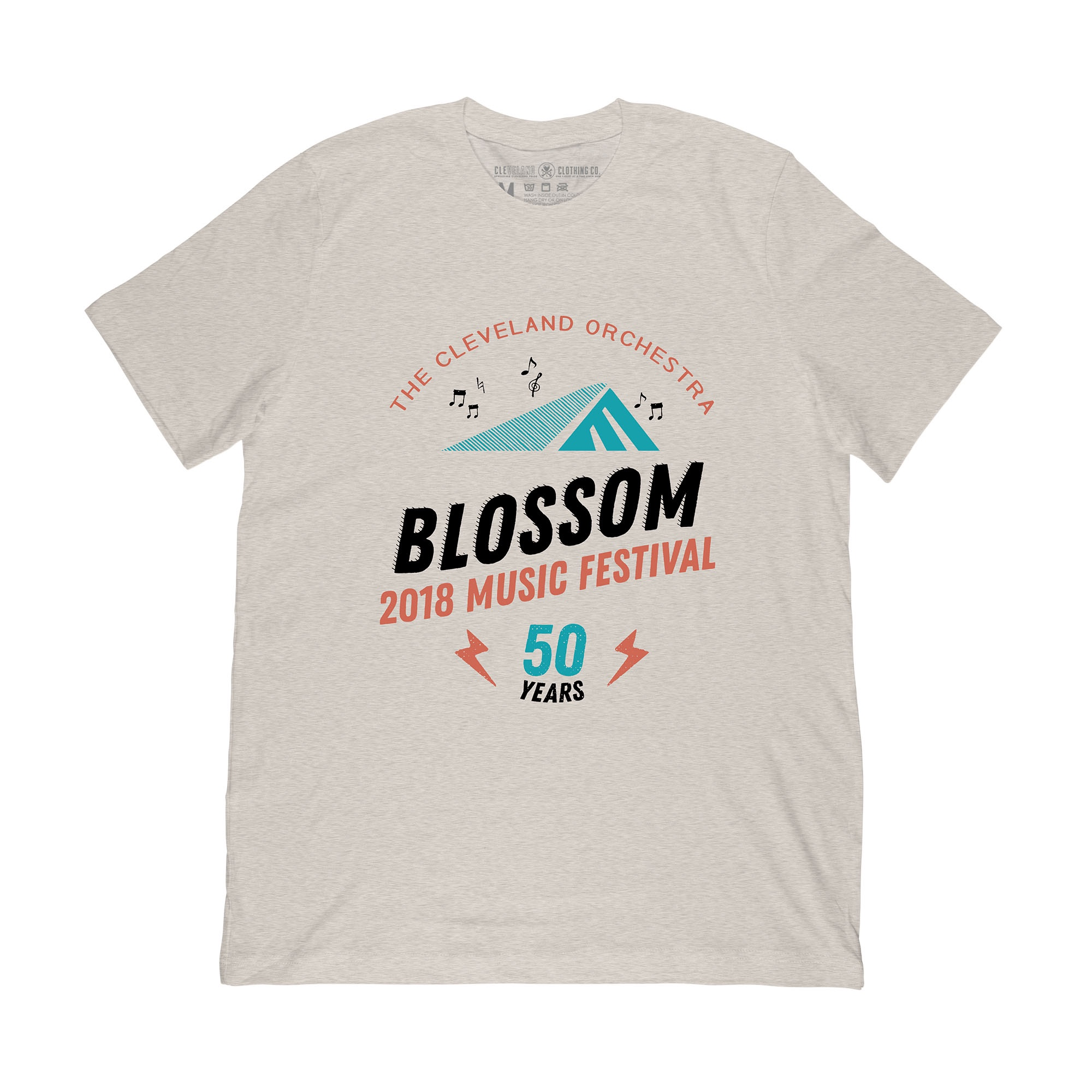Blossom 50th T-Shirt Oatmeal