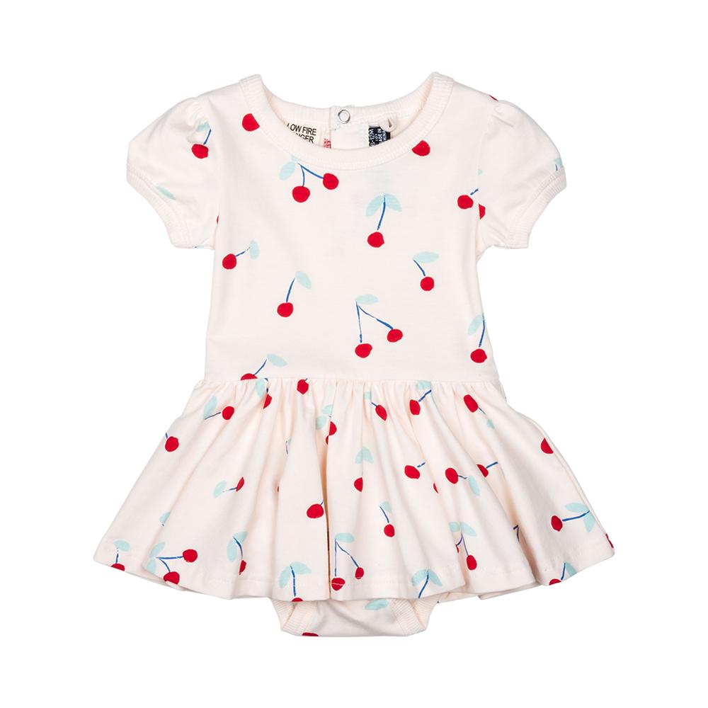 RYB Cherry Bomb Baby Waisted Dress