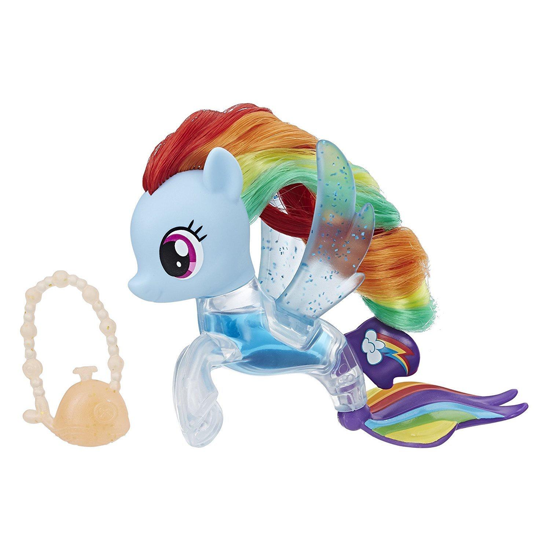 My Little Pony The Movie Rainbow Dash Flip Flow Sea Pony Toys Club