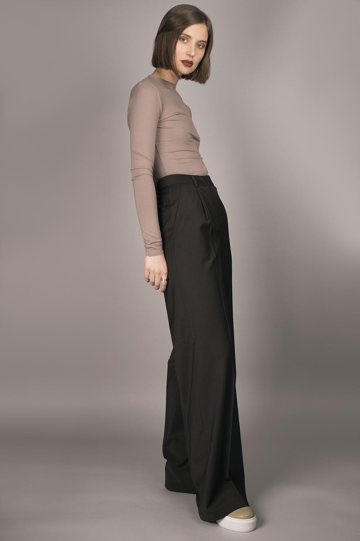 Moe Oslo - Hem Suit Trousers Image