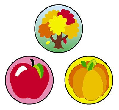 T 46153 FALL FUN SPOT STICKERS
