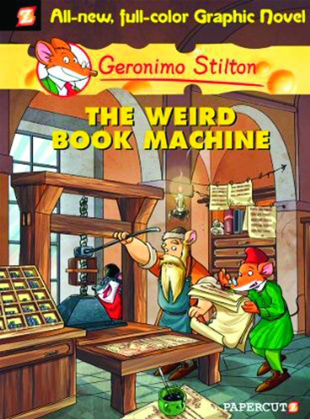 Geronimo Stilton HC Vol 09 Weird Book Machine
