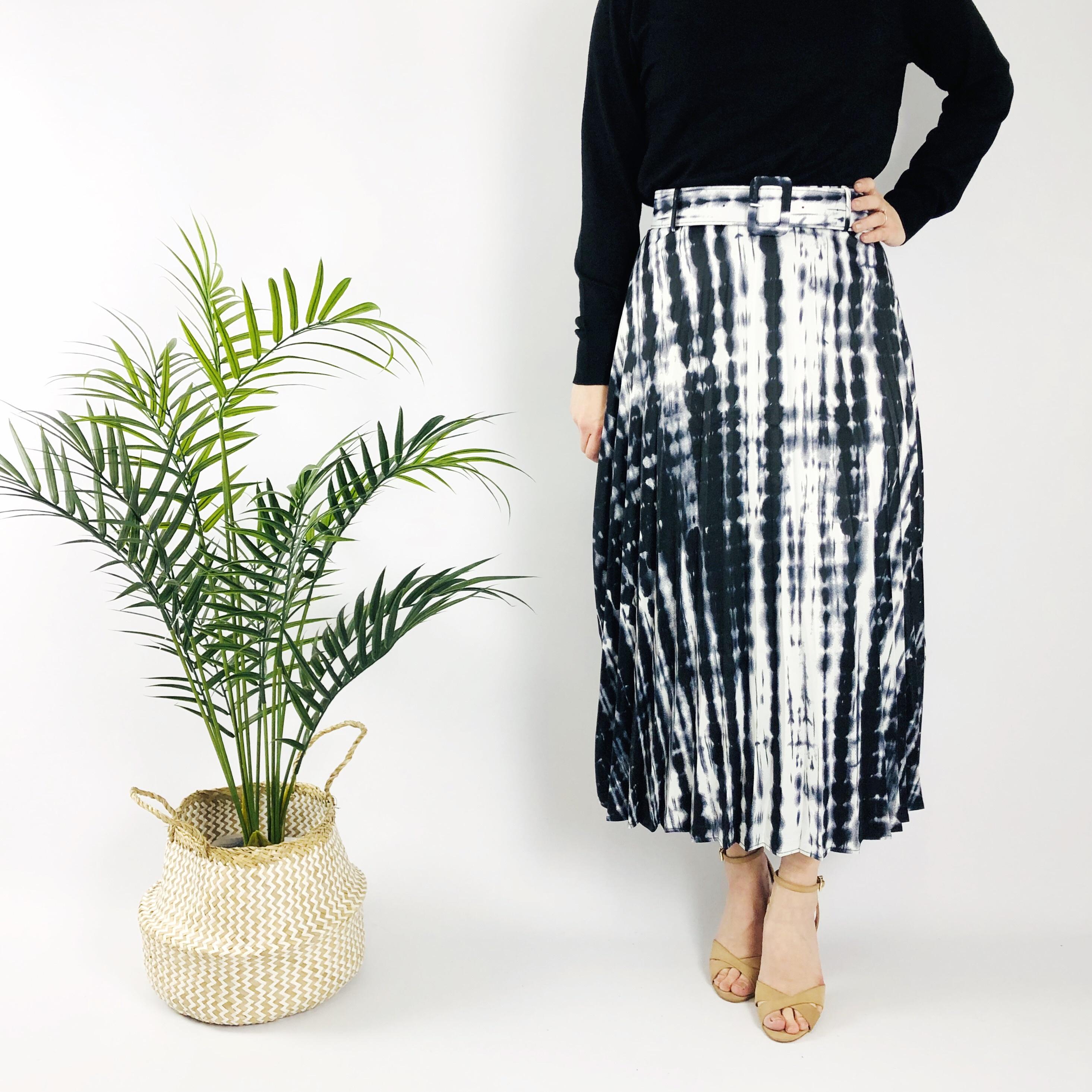Lily White Tie Dye Skirt 11088
