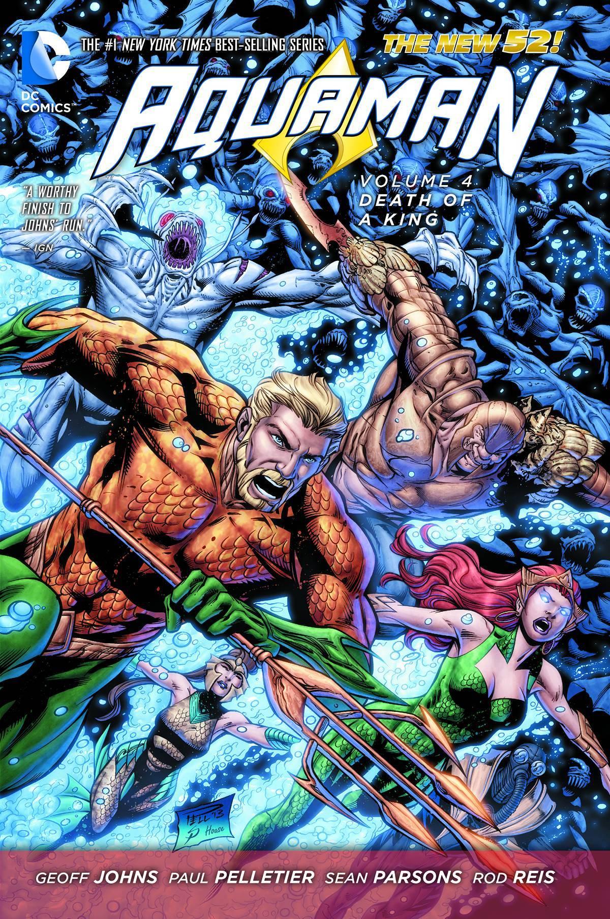 Aquaman Vol 04 Death of A King (N52)